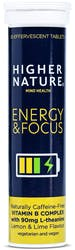 Higher Nature Energy & Focus 10 Tablets