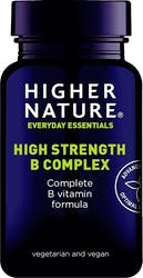 Higher Nature High Strength B Complex 30 Capsules