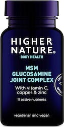 Higher Nature MSM Glucosamine Joint Complex 240 Tablets