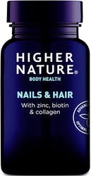 Higher Nature Nails & Hair 120 Capsules