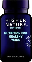 Higher Nature Nutrition for Healthy Veins 90 Capsules