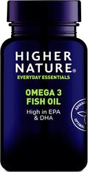 Higher Nature Omega 3 Fish Oil 180 Capsules