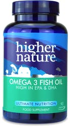 Higher Nature Omega 3 Fish Oil 90 Capsules