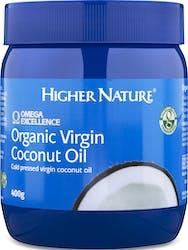 Higher Nature Organic Virgin Coconut Oil 400g