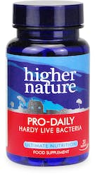 Higher Nature Pro-Daily Probiotic 30 capsules