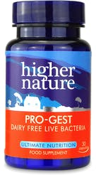 Higher Nature Pro-Gest Vegetable 30 Capsules