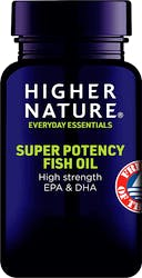 Higher Nature Super Potency Fish Oil 30 Capsules