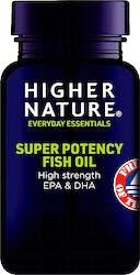 Higher Nature Super Potency Fish Oil 90 Capsules