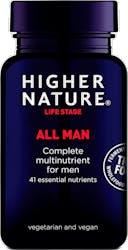 Higher Nature True Food All Man 30 Capsules