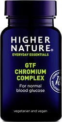 Higher Nature True Food GTF Chromium 90 Tablets