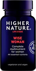 Higher Nature True Food Wise Woman 90 Capsules