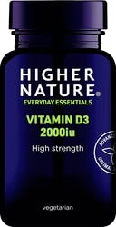 Higher Nature Vitamin D 2000iu 120 Capsules