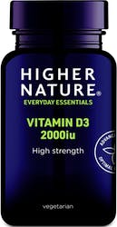 Higher Nature Vitamin D 2000iu 60 Capsules