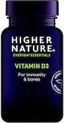 Higher Nature Vitamin D3 500IU 120 Capsules