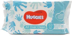 Huggies All Over Clean Wipes Pack of 56
