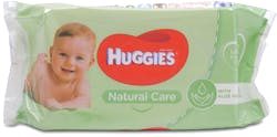 Huggies Natural Care With Aloe Vera Wipes Pack of 56