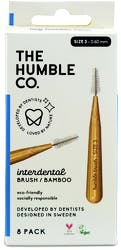Humble Interdental Brush Blue Size 6 8s