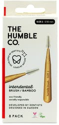 Humble Interdental Brush Red Size 5 8s