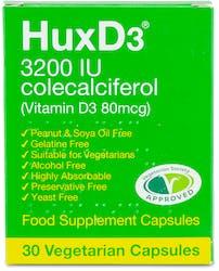 Huxd3 3200IU Colecalciferol Vitamin D3 80mcg