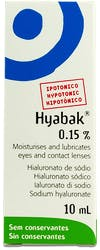 Hyabak Eye Drops Hypotonic For Dry Eyes  10ml