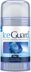 Iceguard Natural Crystal Deodorant Twist Up 120g