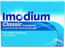 Imodium Classic 18s Capsules