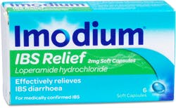 Imodium IBS relief  2mg Soft Capsules 6 Capsules
