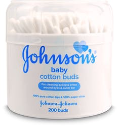 Johnson's Baby Cotton Buds 200 Paper Sticks