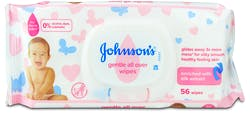 Johnson's Baby Gentle All Over 56 Wipes