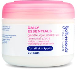 Johnson's Face Care Daily Essentials Gentle Make-Up Removal Pads 30 Pads