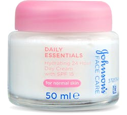 Johnson's Face Care Daily Essentials Hydrating 24 Hour Day Cream SPF 15 50ml