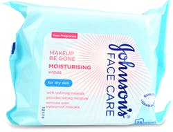 Johnson's Face Care Makeup Be Gone Moisturising 25 Wipes