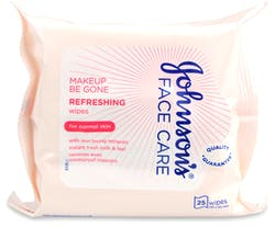 Johnson's Face Care Makeup Be Gone Refreshing 25 Wipes