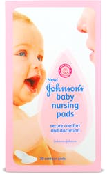 Johnson's Nursing Breast Pads 30's