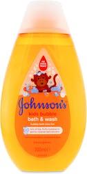 Johnsons Baby Bubble Bath & Wash 300ml