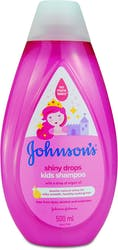 Johnsons Shiny Drops Kids Shampoo 500ml