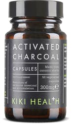 Kiki Activated Charcoal Vegicaps 50 Capsules