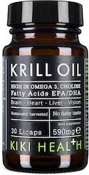 Kiki Krill Oil 30 Capsules