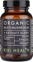 Kiki Organic 8 Mushroom Extract Blend 60 Capsules