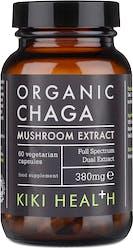 Kiki Organic Chaga Extract Mushroom 60 Capsules