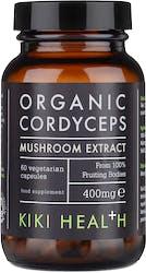 Kiki Organic Cordyceps Extract Mushroom 60 Capsules