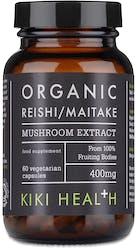 Kiki Organic Maitake & Reishi Extract Blend 60 Vegicaps