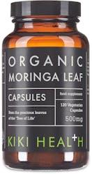 KIKI Health Organic Moringa Vegicaps 120 Vegicaps