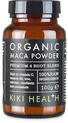 KIKI Health Organic Premium 4 Root Maca Powder 100g