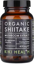 Kiki Organic Shiitake Extract Mushroom 60 Capsules