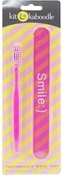 Kit & Kaboodle Toothbrush & Travel Case
