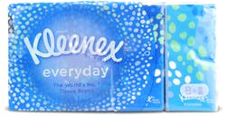 Kleenex Everyday Pocket Tissues 8 Pack 72pcs