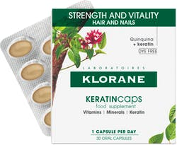Klorane Keratin Caps Strength & Vitality Hair and Nails