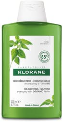 Klorane Oily Hair Shampoo With Organic Nettle 200ml