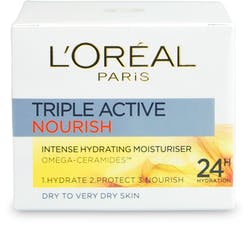 L'Oréal Paris Triple Active Day Moisturiser Very Dry Skin 50ml